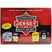 2019 Leaf Autographed Jersey Multi-Sport Hobby Box