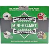 2019 Leaf Autographed Football Mini-Helmet Edition Hobby 10-Box Case