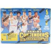 2018/19 Panini Contenders Basketball 5-Pack Blaster Box