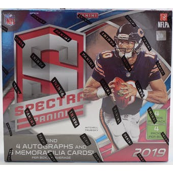 2019 Panini Spectra Football 4-Box- DACW Live 32 Spot Pick Your Team Break #2