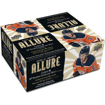 2020/21 Upper Deck Allure Hockey 20-Pack 12-Box Case (Presell)
