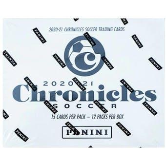 2020/21 Panini Chronicles Soccer Multi Cello 12-Pack Box