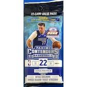 2020/21 Panini Contenders Basketball Jumbo Value Pack (Lot of 12)