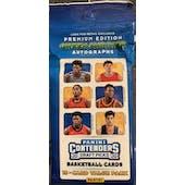 2020/21 Panini Contenders Draft Basketball Jumbo Fat Pack (Lot of 12) = 1 Box!