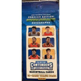 2020/21 Panini Contenders Draft Basketball Jumbo Fat Pack