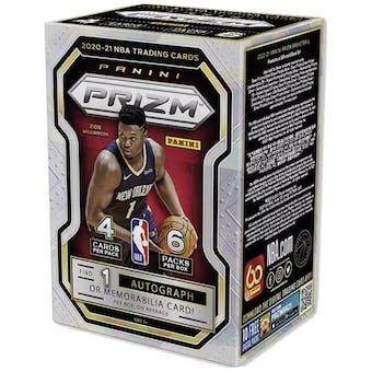 2020/21 Panini Prizm Basketball 6-Pack Blaster Box