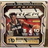 2020/21 Panini Prizm Basketball Mega Box (50 Ct.)