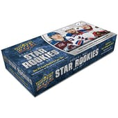 2020/21 Upper Deck NHL Rookie Box Set Hockey Hobby 20-Box Case (Presell)
