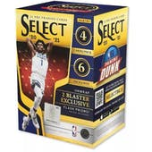2020/21 Panini Select Basketball 6-Pack Blaster Box (Flash Prizms!)