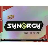 2020/21 Upper Deck Synergy Hockey Hobby 10-Box Case (Presell)