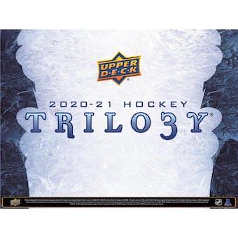 2020/21 Upper Deck Trilogy Hockey Hobby 10-Box Case- DACW Live 31 Spot Random Team Break #1