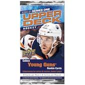 2020/21 Upper Deck Series 1 Hockey Pack