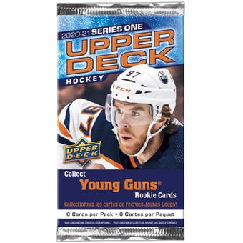 2020/21 Upper Deck Series 1 Hockey Pack