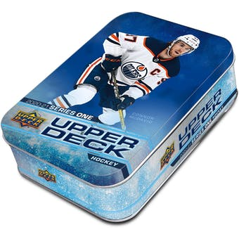 2020/21 Upper Deck Series 1 Hockey Tin (Box)