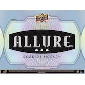 2020/21 Upper Deck Allure Hockey Hobby Box (Presell)