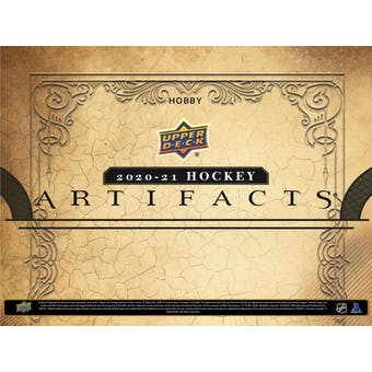 2020/21 Upper Deck Artifacts Hockey Hobby 10-Box Case (Presell)