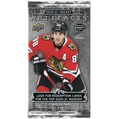 2020/21 Upper Deck Artifacts Hockey Hobby Pack