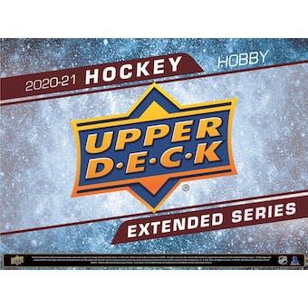 2020/21 Upper Deck Extended Series Hockey Hobby Box (Presell)