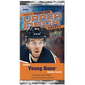 2020/21 Upper Deck Series 1 Hockey Hobby Pack