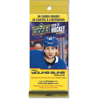 2020/21 Upper Deck Series 2 Hockey Fat Pack 6-Box Case (Presell)