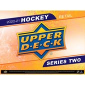 2020/21 Upper Deck Series 2 Hockey 24-Pack 20-Box Case (Presell)