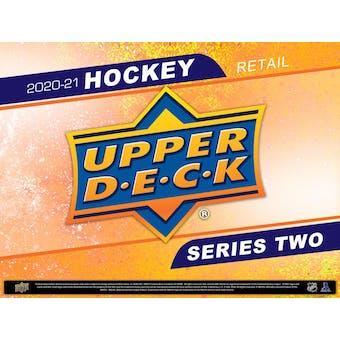 2020/21 Upper Deck Series 2 Hockey 24-Pack Box (Presell)