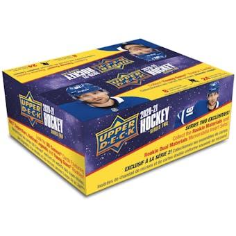 2020/21 Upper Deck Series 2 Hockey 24-Pack 20-Box Case (Presell)