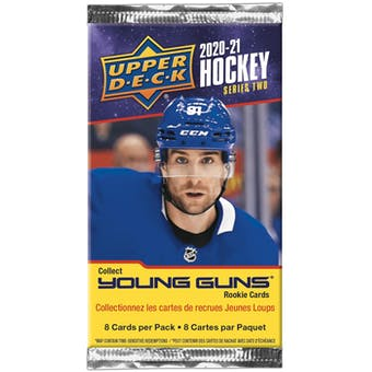 2020/21 Upper Deck Series 2 Hockey Retail Pack