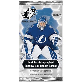 2020/21 Upper Deck SPx Hockey Hobby Pack