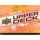 2020/21 Upper Deck Series 1 Hockey Hobby 12-Box Case (Presell)
