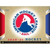 2020/21 Upper Deck AHL Hockey Hobby 24-Box Case (Presell)