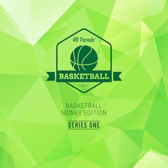 2020/21 Hit Parade Basketball Money Edition Series 1 Hobby Box /100 Zion-Morant-Barrett (SHIPS 6/11)