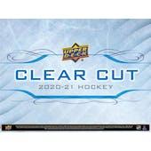 2020/21 Upper Deck Clear Cut Hockey Hobby Box (Presell)