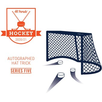 2020/21 Hit Parade Autographed HAT TRICK Hockey Series 5 Hobby Box - McDavid, MacKinnon & Crosby!!!