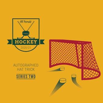 2020/21 Hit Parade Autographed HAT TRICK Hockey Series 2 Hobby Box - Gretzky, Crosby, & McDavid!