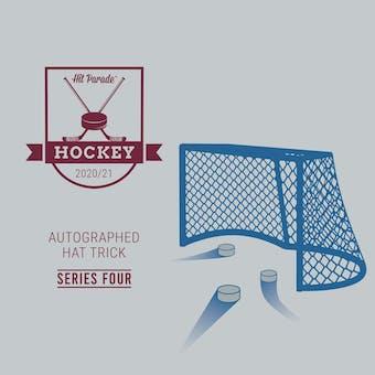 2020/21 Hit Parade Autographed HAT TRICK Hockey Series 4 Hobby Box (Ships 4-23) McDavid, Crosby & Ovechkin!!