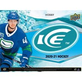 2020/21 Upper Deck Ice Hockey Hobby Box (Presell)
