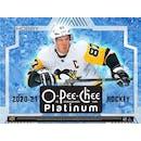 2020/21 Upper Deck O-Pee-Chee Platinum Hockey 8-Box Case- DACW Live 31 Spot Random Team Break #1