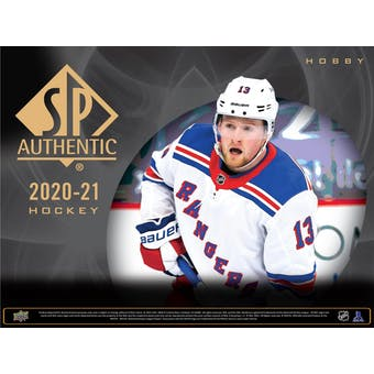 2020/21 Upper Deck SP Authentic Hockey Hobby 8-Box Case (Presell)