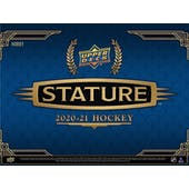 2020/21 Upper Deck Stature Hockey Hobby 8-Box Case (Presell)
