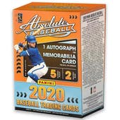 2020 Panini Absolute Baseball 2-Pack Blaster Box