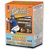 2020 Panini Absolute Baseball 5-Pack Blaster Box
