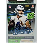 2020 Panini Absolute Football Hanger Box (50 Cards)