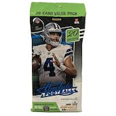 2020 Panini Absolute Football Jumbo/Fat Pack (20 Cards)