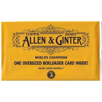 2020 Topps Allen & Ginter Baseball Boxloader Topper Pack