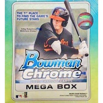 2020 Bowman Chrome Baseball Mega Box