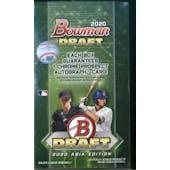 2020 Bowman Draft Asia Edition Baseball Hobby Box