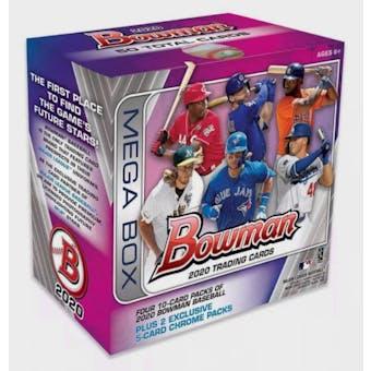 2020 Bowman Baseball Mega Box
