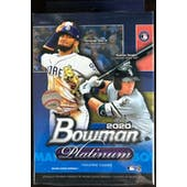 2020 Bowman Platinum Baseball Hanger Box