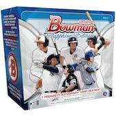 2020 Bowman Sapphire Baseball Hobby Box